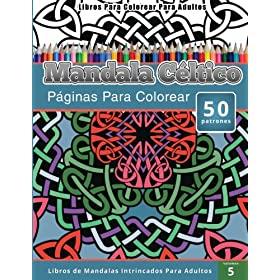 Mandalas Celtas y dibujos para colorear para adultos