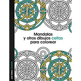 Mandalas celtas con libro para pintar para adultos