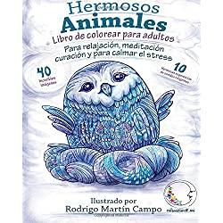 Libro-Colorear-Adultos-Contra-Stress-hermosos-animales-libro-de-colorear-para-adultos