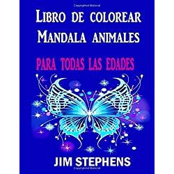 Libro-colorear-Mandala-animales-edades-mandala-animales-jim-stephens