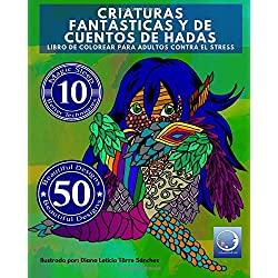 Libro-Colorear-Adultos-Contra-Stress-libros-colorear-criaturas-fantasticas-en-mandalas