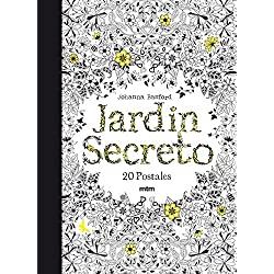 El-jardín-secreto-Johanna-Basfotd-johanna-basford-Jardín-secreto:-20-postales-para-colorear-y-relajarse