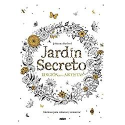 Jardin-secreto-Edición-para-artistas-johanna-basford-Jardín-secreto:-20-postales-para-colorear-y-relajarse