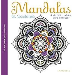 Mandalas-rosetones-Larousse-Ilustrados-Naturaleza-mandalas-rosetones-larousse