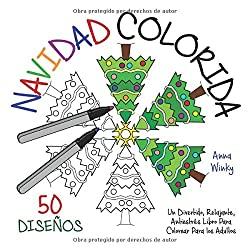 Navidad-Colorida-Divertido-Relajante-Antiestrés-Navidad-colorida-anna-winky