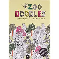 doodles-conseguir-relajación-interior-Arteterapia-Zoo-doodles-para-conseguir-la-relajación-interior