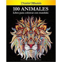 100-Animal-Mandalas-Para-Colorear-arteterapia-libro-gatos