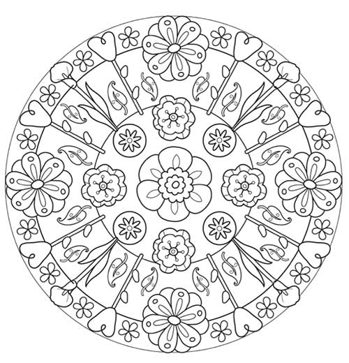 mandalas-para-colorear-con-lapices-de-colores