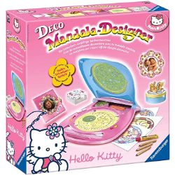 Ravensburger-Mandala-Designer-18647-Hello-Hello-Kitty-Set-para-crear-diseños-decorativos-books-diseño-de-mandalas