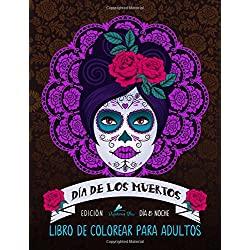 Dia-Los-Muertos-antiestrés-relajación-dia-de-muertos-libro-de-colorear