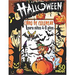 Halloween-Libro-Colorear-para-niños-Halloween-libro-para-colorear