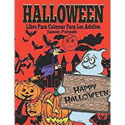 Halloween-Colorear-Adultos-Dibujos-colorear-Halloween-Libro-Para-Colorear-Para-Los-Adultos-El-Estrés-Adulto-Dibujos-para-colorear
