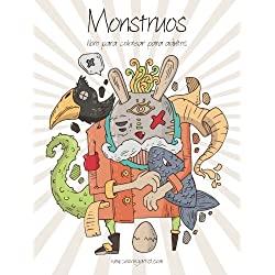 Monstruos-libro-para-colorear-adultos-Monstruos-libro-para-colorear-para-adultos-1-Volume-1-books