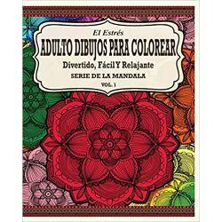 Estrés-Adultos-Dibujos-Para-Colorear-el-estres-y-los-mandalas-para-colorear-faciles