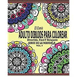 Estrés-Adultos-Dibujos-Para-Colorear-el-estres-libro-dibujo-para-colorear-vol.9
