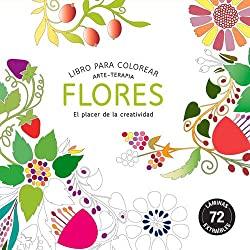 Flores-Compactos-Arte-terapia-Editorial-Alma-libro-para-colorear-arte-terapia-flores-compactos