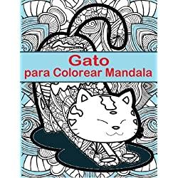 Gato-Para-Colorear-Mandala-divertido-Gatos-para-colorear-mandala-tamaño-completo